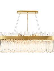 abordables -QIHengZhaoMing 10 lumières Lustre Lumière d'ambiance Plaqué Métal 110-120V / 220-240V Blanc Crème