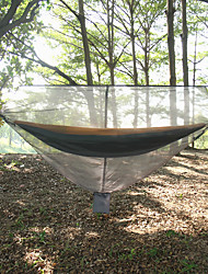 baratos -Rede para Acampamento com Tela Mosqueteira Ao ar livre Leve, Ultra Leve (UL), Anti-Insectos Terylene para Pesca / Equitação / Campismo Laranja