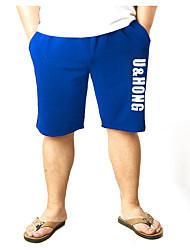 cheap -Men's Basic Wide Leg Pants - Letter