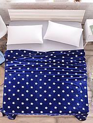 Недорогие -Супер мягкий, С принтом В точечку Акриловые волокна одеяла