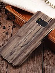 abordables -Coque Pour Samsung Galaxy S8 Plus / S8 Ultrafine Coque Apparence Bois Dur PC pour S8 Plus / S8 / S7 edge