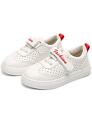 ราคาถูก -เด็กผู้ชาย / เด็กผู้หญิง หนังเทียม รองเท้าผ้าใบ เด็กน้อย (4-7ys) / Big Kids (7 ปี +) ความสะดวกสบาย วสำหรับเดิน ข้อต่อ สีดำ / แดง / สีเขียว ตก