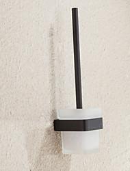 abordables -Porte Brosse de Toilette Design nouveau / Cool Moderne Acier inoxydable / fer 1pc Porte-brosse WC Montage mural