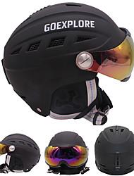 Недорогие -Лыжный шлем Универсальные Сноубординг Лыжи Регулируется One Piece Тепловая / Теплый прибыль на акцию ABS CE EN 1077 ASTM