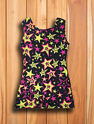 cheap -Ballet Tops Girls' Performance Spandex Pattern / Print Sleeveless Vest
