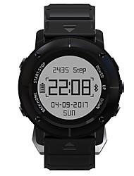 economico -Intelligente Guarda JSBP-UW80 per Android Bluetooth GPS Sportivo Impermeabile Monitoraggio frequenza cardiaca Schermo touch Cronometro Pedometro Avviso di chiamata Localizzatore di attività