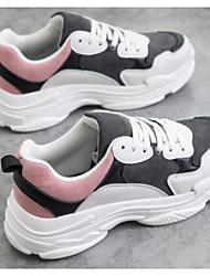 Női Kényelmes cipők Szintetikus Tavasz   Ősz Sportcipők Futócipő Alacsony  Szürke   Fekete   Vörös 8bc691bcf7