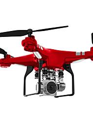 billiga -RC Drönare SH5HD 4 Kanaler 6 Axel 2.4G Med HD-kamera 0.3MP Radiostyrd quadcopter FPV / Retur Med Enkel Knapptryckning / Auto-Takeoff Radiostyrd Quadcopter / Fjärrkontroll / Kamera / Sväva / Sväva