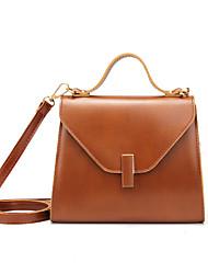 Недорогие -Жен. Молнии PU Мобильный телефон сумка Красный / Каштановый / Хаки