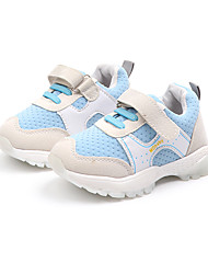 cheap -Girls' Shoes Mesh Fall & Winter Comfort Sneakers Walking Shoes Buckle for Teenager Purple / Blue / Pink