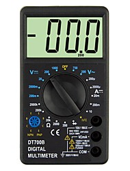 Недорогие -dt700b lcd портативный цифровой мультиметр, используемый для дома и автомобиля