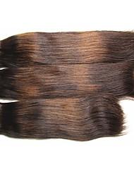 """Недорогие -Необработанные / Не подвергавшиеся окрашиванию плетение волос Для темнокожих женщин / 100% девственница / Необработанные Бразильские волосы 12"""" 0.08kg Более года Подарок / Wear to work / Школа"""