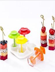 Недорогие -пластик DIY прессформы Инструменты сделай-сам Для фруктов и овощей Художественный Лучшее качество Творческая кухня Гаджет Кухонная утварь Инструменты
