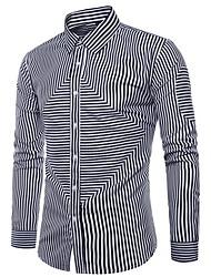 billige -mænds skjorte - solid farvet skjorte krave