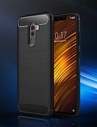 billiga -fodral Till Xiaomi Xiaomi Pocophone F1 / Mi 8 SE Stötsäker Skal Enfärgad Mjukt TPU för Xiaomi Pocophone F1 / Xiaomi Mi 8 / Xiaomi Mi 8 SE