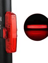 abordables -ECLAIRAGE ARRIERE LED Eclairage de Velo Cyclisme Imperméable, Ajustable, Antichocs Batterie au lithium 10 lm Rouge mi.xim