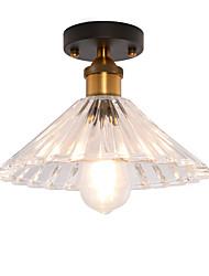 baratos -europa do norte moderna teto de vidro vintage luz sala de estar sala de jantar corredor montagem embutida luz