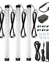 Недорогие -ZDM® 0,33 М Прочные светодиодные панели 144 светодиоды SMD 2835 1 монтажный кронштейн / 1 x диммерный переключатель / 1 до 2 кабельных разъемов Тёплый белый / Холодный белый