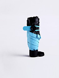 Недорогие -пластик Жен. Солнечный и дождливой Складные зонты