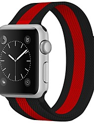 abordables -Acier Inoxydable Bracelet de Montre  Sangle pour Apple Watch Series 3 / 2 / 1 Noir 23cm / 9 pouces 2.1cm / 0.83 Pouces