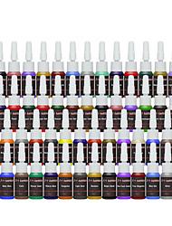 Недорогие -FTTATTOO Чернила для татуировки 54 x 8 ml Для профессионалов - Разноцветный