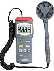baratos -Anemômetro ms6250 digital mastech medidor de velocidade do vento testador 0.4 ~ 30 m / s com grande lcd e luz de fundo de dados de espera