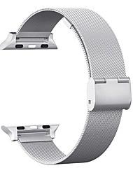 povoljno -Nehrđajući čelik Pogledajte Band Remen za Apple Watch Series 4/3/2/1 Srebro 18 cm / 7 inča 2.1cm / 0.83 Palac