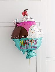 Недорогие -Воздушный шар Фольга 1 шт. День рождения / Сказка