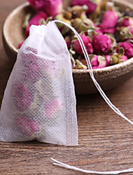 baratos -20 pcs saquinhos de chá cheios de sacos de chá perfumados com corda curar selo papel de filtro para herb frouxo chá bolsas