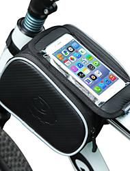 Недорогие -Сотовый телефон сумка / Бардачок на раму 5 дюймовый Велоспорт для Велосипедный спорт Черный