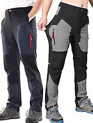 baratos -Homens Calças de Trilha Ao ar livre Secagem Rápida, Design Anatômico, Vestível Elastano Calças Pesca / Equitação / Elasticidade Alta