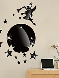 cheap -Decorative Wall Stickers - Mirror Wall Stickers Holiday Living Room