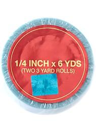 baratos -Acessórios Para Peruca Resina Fitas Adesivas Fitas Adesivas Universal / Removível / Multifunção 2 pcs Natal / Halloween / Diário Básico Azul