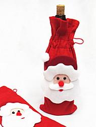 baratos -Sacos e Transportadores de Vinho Férias Não-Tecelado Rectângular Festa / Novidades Decoração de Natal