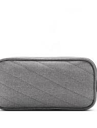 baratos -Homens Bolsas Tecido Oxford Bolsa de Mão Ziper Preto / Cinzento