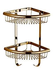 billige -Badeværelseshylde Nyt Design Moderne Messing 1pc Vægmonteret