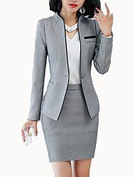 baratos -Mulheres Terno Negócio Sólido