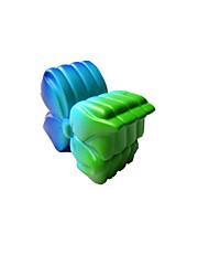 Недорогие -Резиновые игрушки Устройства для снятия стресса Креатив Простой Геометрический узор Декомпрессионные игрушки Поливинилхлорид 1 pcs Дети Взрослые Все Игрушки Подарок