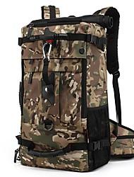"""Недорогие -40 L Рюкзаки / Нести сумку - Легкость, Дожденепроницаемый, Пригодно для носки На открытом воздухе Пешеходный туризм, Пляж, Походы Ткань """"Оксфорд"""" Черный, Военно-зеленный, Камуфляжный"""