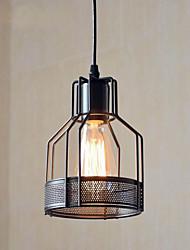 abordables -CXYlight Lampe suspendue Lumière dirigée vers le bas Finitions Peintes Métal Style mini 110-120V / 220-240V Ampoule non incluse / E26 / E27