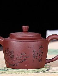 Недорогие -Фарфор Heatproof Телесный Чайный нерегулярный 1шт чайник
