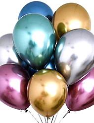 Недорогие -Воздушные шары Круглые Творчество Вечеринка Декорации для вечеринок 50шт