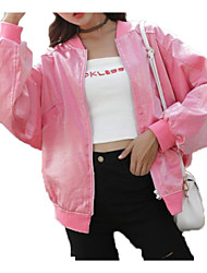 Недорогие -Жен. Куртка Активный - Однотонный