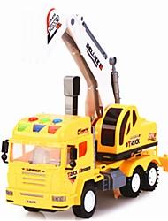 Недорогие -Строительная техника Игрушечные грузовики и строительная техника 1:32 Новый дизайн моделирование пластик Пластиковый корпус 1 pcs Дети Мальчики Девочки Игрушки Подарок