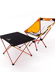 """Недорогие -BEAR SYMBOL Складное туристическое кресло Туристический стол На открытом воздухе Легкость, Противозаносный, Воздухопроницаемость Ткань """"Оксфорд"""", Алюминий 7075 для Рыбалка / Походы - Оранжевый"""