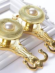 Недорогие -Curtain Accessories  Металл Дверные крючки Металл Окно Лечение Коллекция