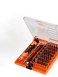 Недорогие -Хром молибденовая сталь Ремонт Apple Samsung 45 in 1 Наборы инструментов
