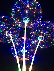 cheap -Balloons Round LED Light Birthday Party Decorations 1pc