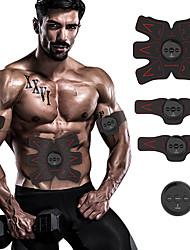 Недорогие -Abs-стимулятор / Экспедитор Abs С 4 pcs Электроника, Силовая тренировка, Тренажёр для приведения мышц в тонус Проработка мышц, Контейнер для живота Для