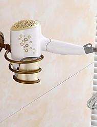 abordables -Crochet à Peignoir / Etagère de Salle de Bain Design nouveau / Multifonction Antique Laiton 1pc Montage mural